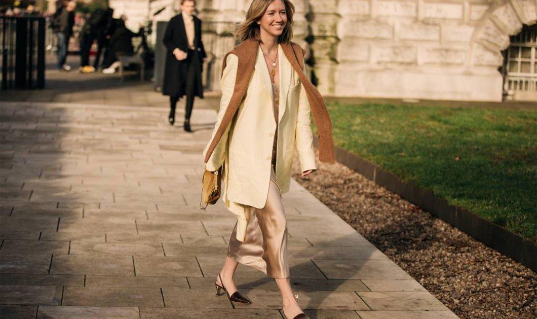 Υπέροχες εμφανίσεις: Δείτε το καλύτερο street style από την εβδομάδα μόδας του Λονδίνου - Φώτο - Κυρίως Φωτογραφία - Gallery - Video