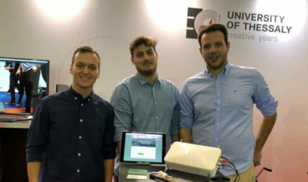 Made in Greece η Oliveex: Τρεις τελειόφοιτοι Ηλεκτρολόγοι Μηχανικοί έφτιαξαν έξυπνο σύστημα IoT αποθήκευσής ευαίσθητων τροφίμων - Κυρίως Φωτογραφία - Gallery - Video