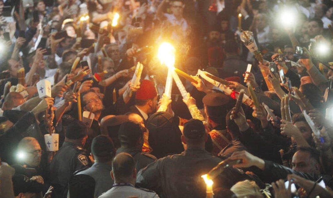 Ιεροσόλυμα: live η Τελετή Αφής του Αγίου Φωτός (βίντεο) - Κυρίως Φωτογραφία - Gallery - Video
