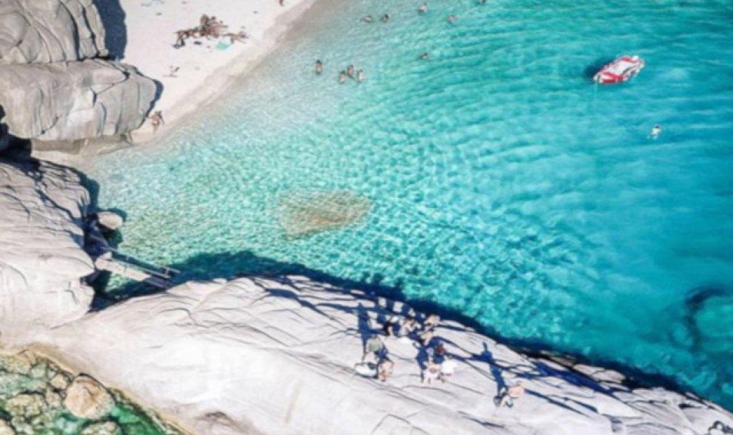 Σεϋχέλλες: Η πανέμορφη παραλία της Ικαρίας πόλος έλξης Ελλήνων & ξένων τουριστών - Η φωτογραφία της ημέρας  - Κυρίως Φωτογραφία - Gallery - Video