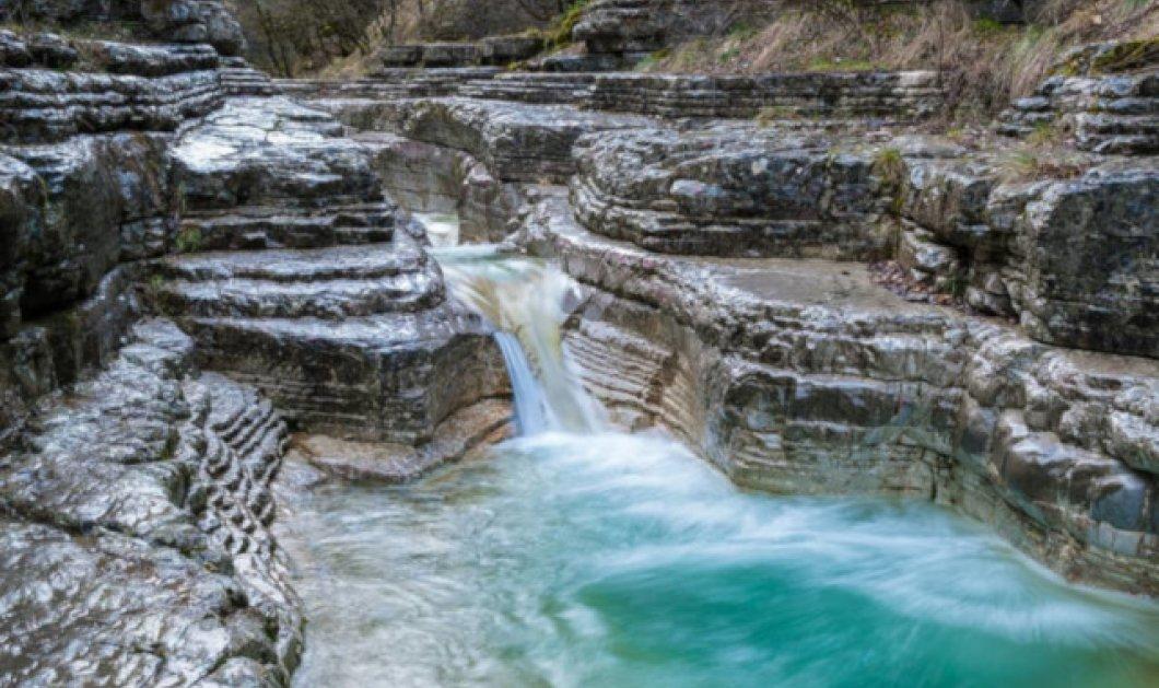 Πάπιγκο: Το πέτρινο στολίδι των Ιωαννίνων με τα δροσερά νερά – Απίθανη η φωτογραφία της ημέρας - Κυρίως Φωτογραφία - Gallery - Video