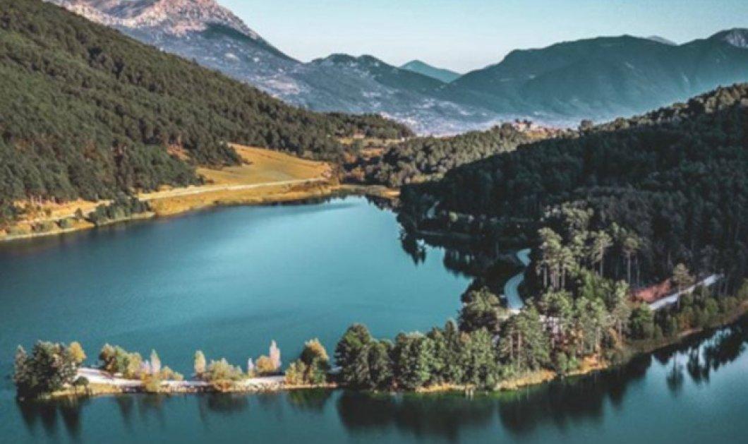 Λίμνη Δόξα: Το μεγαλείο της φύσης σε μία φωτογραφική λήψη άπειρου κάλλους - Κυρίως Φωτογραφία - Gallery - Video