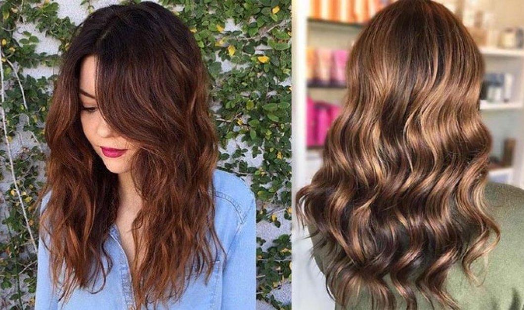 Εντυπωσιακό καστανό, το must του καλοκαιριού: 21 υπέροχες αποχρώσεις για τα μαλλιά σας  - Κυρίως Φωτογραφία - Gallery - Video