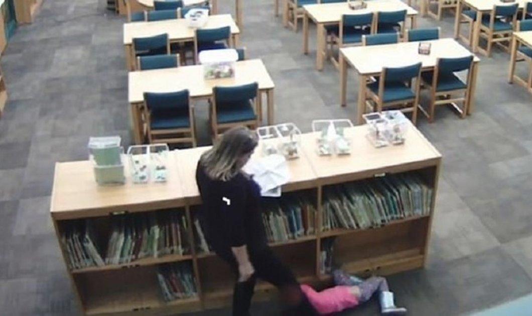 Σοκαριστικό βίντεο: Νηπιαγωγός κλωτσάει 5χρονη μαθήτρια την ώρα του μαθήματος!  - Κυρίως Φωτογραφία - Gallery - Video