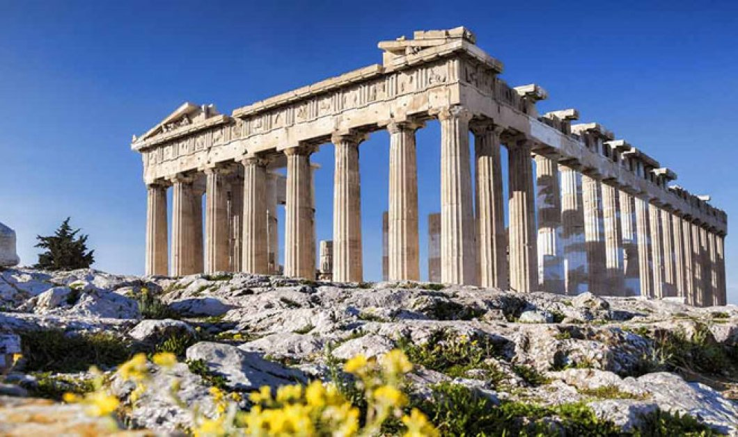 Bloomberg: Η ελληνική ανάκαμψη γίνεται με... αρχιτεκτονικό στυλ και  μαρμάρινους κίονες - Κυρίως Φωτογραφία - Gallery - Video