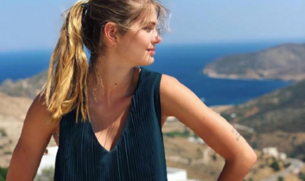 Η Αμαλία Κωστοπούλου στέλνει τρυφερόμήνυμα όλο νόημα & ζαλιστική φωτόμε τα κάλλη της - Κυρίως Φωτογραφία - Gallery - Video