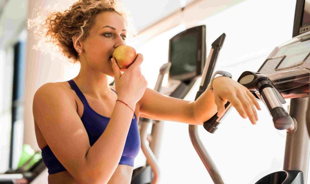 Ποιες τροφές μπορείτε να τρώτε πριν και μετά την γυμναστική σας  - Κυρίως Φωτογραφία - Gallery - Video