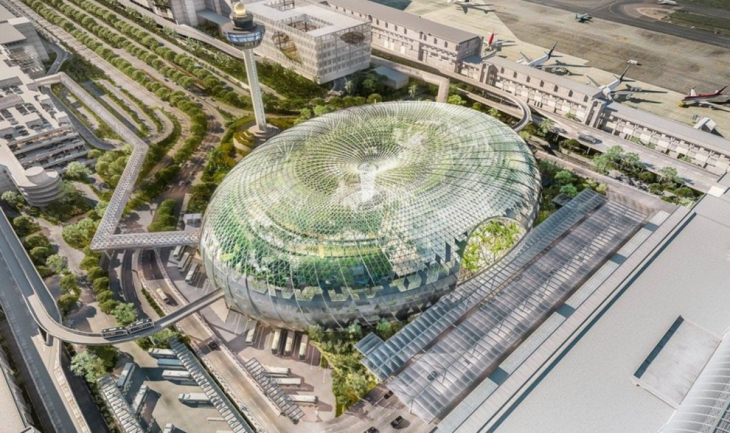 Το Changi Airport στη Σιγκαπούρη ανακηρύχθηκε το καλύτερο αεροδρόμιο παγκοσμίως στα ετήσια World Airport Awards του Skytrax 2019  - Κυρίως Φωτογραφία - Gallery - Video