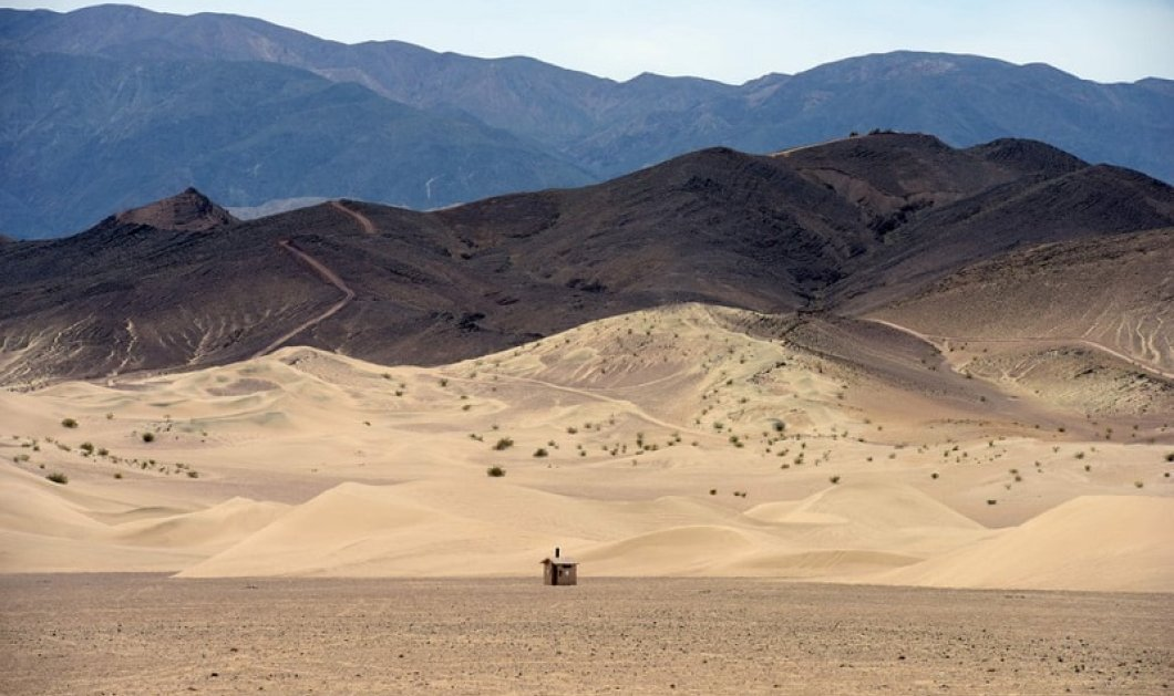 Αυτό θα πει «στη μέση του πουθενά»: Μια... ξεχασμένη καλύβα στο κέντρο της ερήμου Mojave!  - Κυρίως Φωτογραφία - Gallery - Video