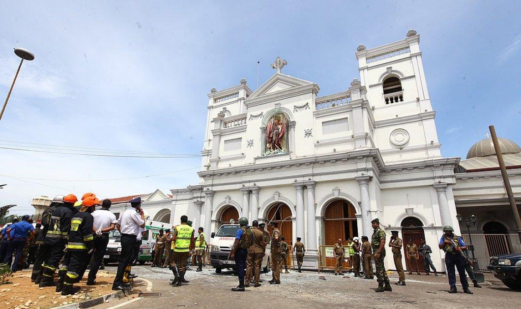 """Σρι Λάνκα: Συγκλονίζουν οι επιζώντες - """"Ο βομβιστής ήταν απολύτως ήρεμος πριν ανατινάξει τον ναό - Χάιδεψε ένα παιδί στο κεφάλι & συνέχισε.."""" (φώτο- βίντεο) - Κυρίως Φωτογραφία - Gallery - Video"""
