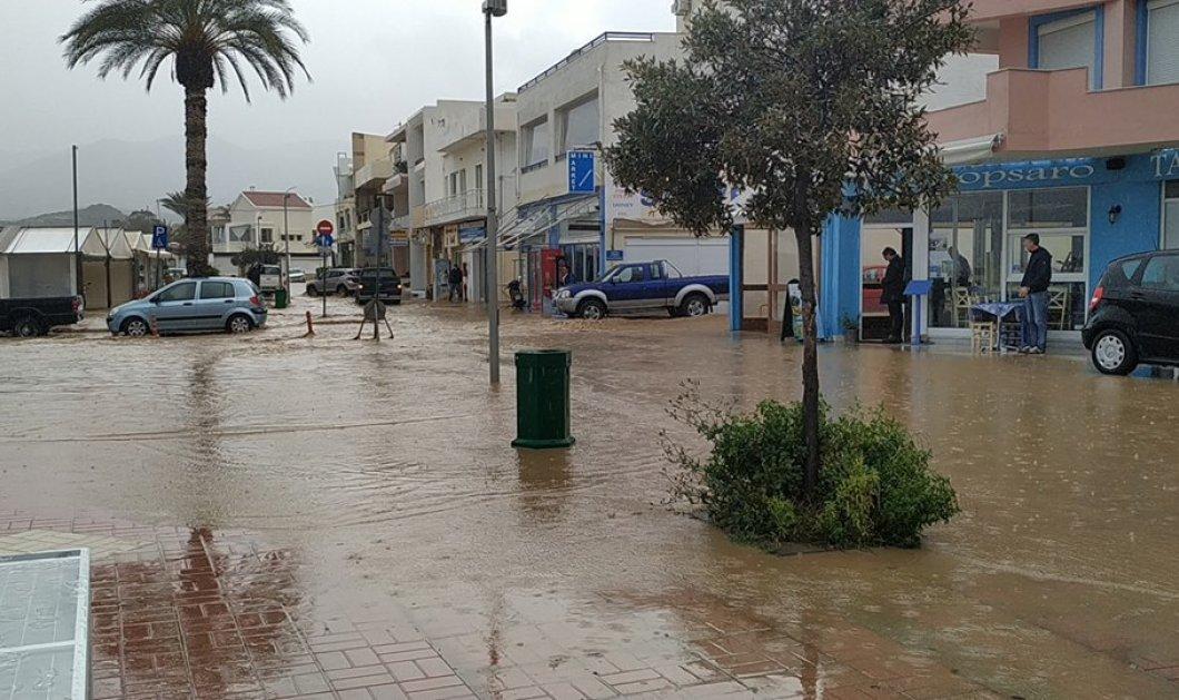 """Εικόνες """"αποκάλυψης"""" στην Κρήτη: Κινδύνευσαν άνθρωποι - Κόβουν την ανάσα τα βίντεο και οι φωτογραφίες  - Κυρίως Φωτογραφία - Gallery - Video"""
