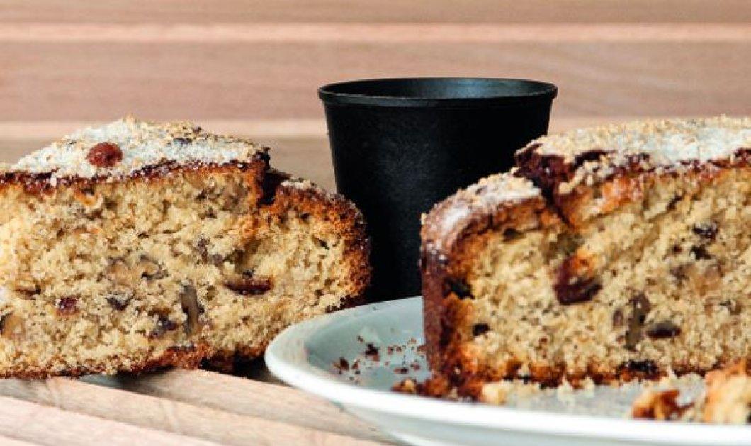 Στέλιος Παρλιάρος Μας φτιάχνει νηστίσιμο κέικ με ταχίνι – Γεμάτο αρώματα! - Κυρίως Φωτογραφία - Gallery - Video