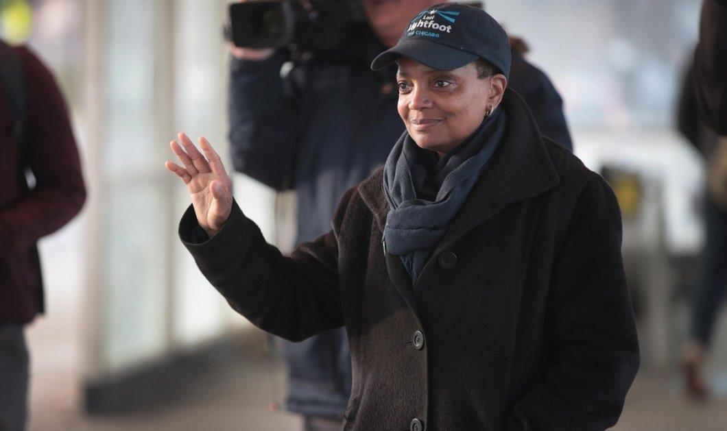 Σικάγο: Εξελέγη για πρώτη φορά Δήμαρχος μια ομοφυλόφιλη Αφροαμερικανίδα - Κυρίως Φωτογραφία - Gallery - Video