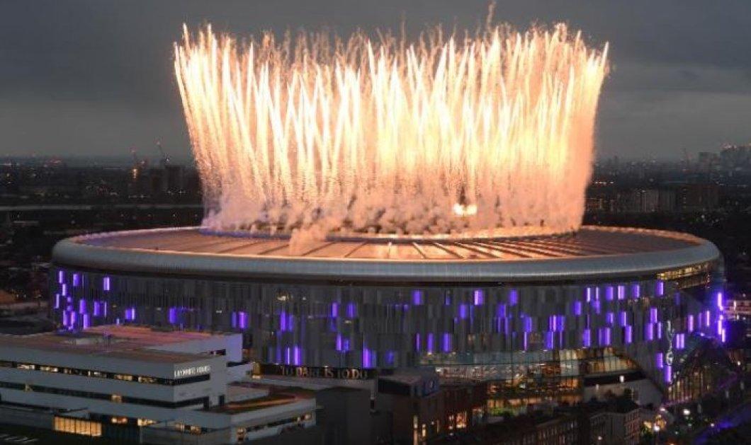 Το νέο εντυπωσιακό γήπεδο της Τότεναμ εγκαινιάστηκε και χαρακτηρίστηκε ως το «καλύτερο στάδιο του κόσμου»! (βίντεο) - Κυρίως Φωτογραφία - Gallery - Video