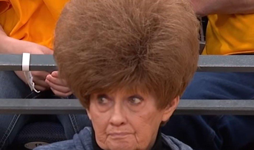 Βίντεο: Viral η οπαδός του ΝΒΑ – Πήγε με μαλλιά θάμνο για να δει τον αγώνα! - Κυρίως Φωτογραφία - Gallery - Video
