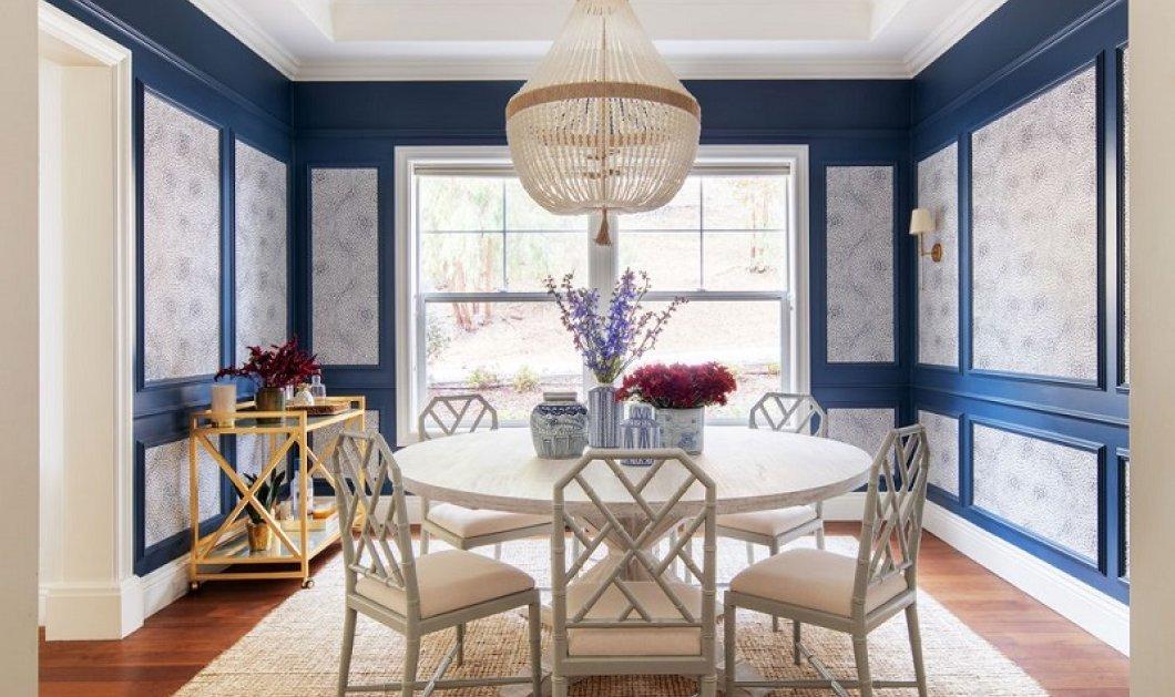 Αυτή η εξοχική κατοικία κοντά στη θάλασσα έχει κυρίαρχο χρώμα το μπλε - Θα σας μαγέψει φωτό) - Κυρίως Φωτογραφία - Gallery - Video