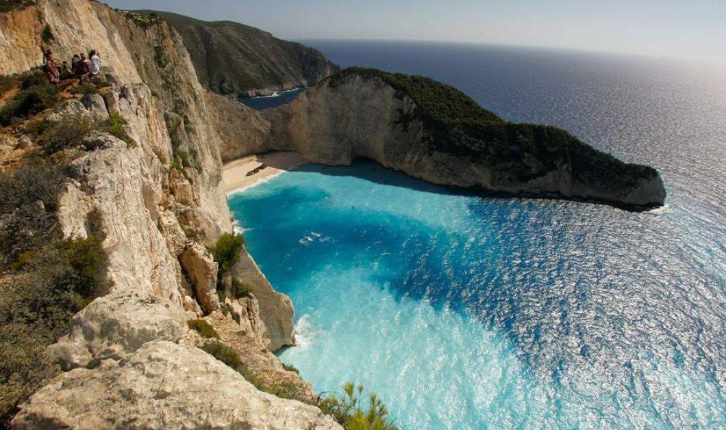 Ζάκυνθος- Ναυάγιο: Που επιτρέπεται & που απαγορεύεται η πρόσβαση τουριστών στην διασημότερη παραλία μας - Κυρίως Φωτογραφία - Gallery - Video