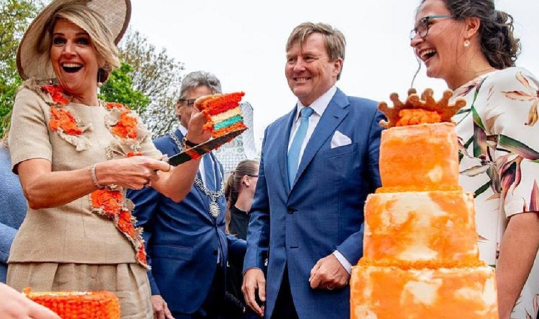 Η βασίλισσα Μάξιμα γιόρτασε με όλη την οικογένεια της Ολλανδίας την πορτοκαλί μέρα του βασιλιά (φώτο) - Κυρίως Φωτογραφία - Gallery - Video