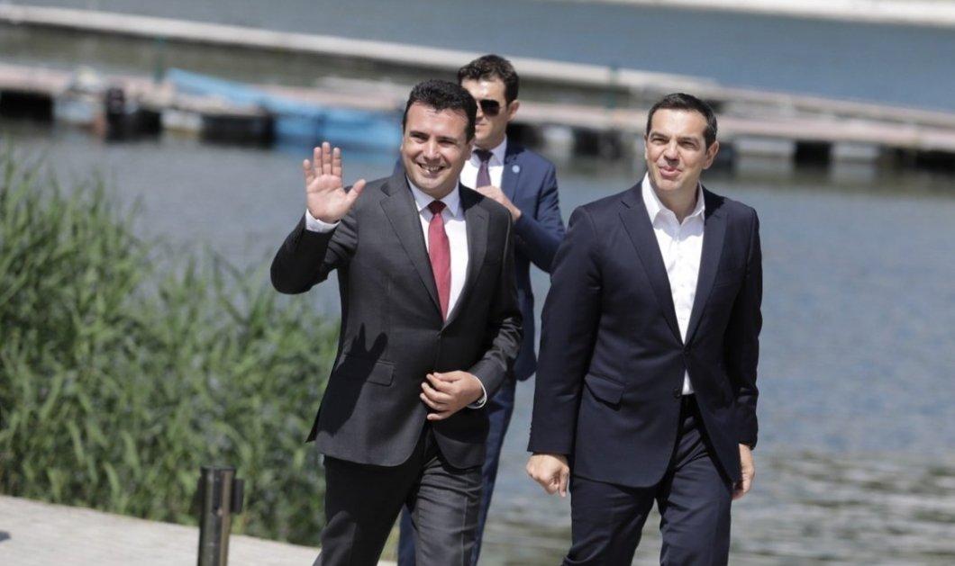 Επίσκέψη Αλέξη Τσίπρα στη Βόρεια Μακεδονία – Μια «νέα αρχή» στις σχέσεις των δύο χωρών - Κυρίως Φωτογραφία - Gallery - Video