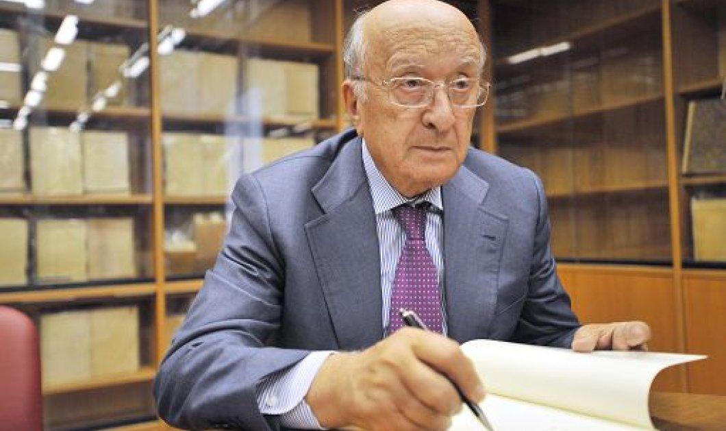Ο πιο μεγάλος δήμαρχος της Ευρώπης είναι 91 ετών -  Τσιριάκο ντε Μίτα, ο πρώην πρωθυπουργός της Ιταλίας - Κυρίως Φωτογραφία - Gallery - Video