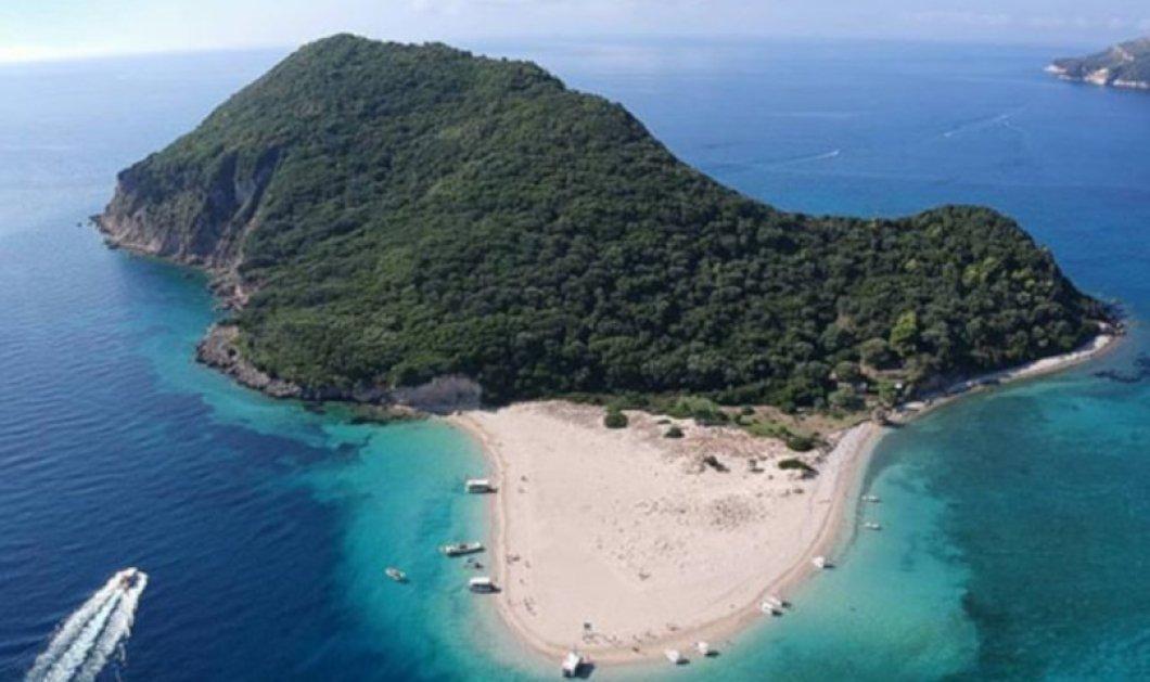 Μαραθονήσι: Το εξωτικό νησί του Ιονίου με το απέραντο γαλάζιο & τους κατοίκους-χελώνες! - Απίθανη η φωτογραφία της ημέρας - Κυρίως Φωτογραφία - Gallery - Video