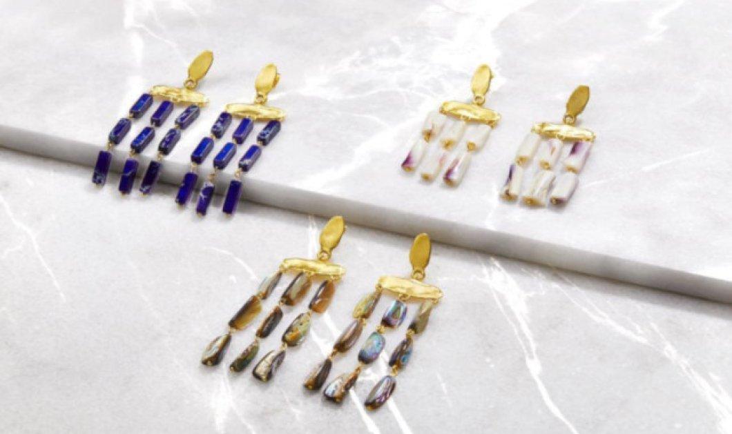 Made in Greece τα κοσμήματα της Έλενας Κουγιανού: Vintage αισθητική, διαχρονικά σχέδια, υπέροχες ακατέργαστες πέτρες  - Κυρίως Φωτογραφία - Gallery - Video