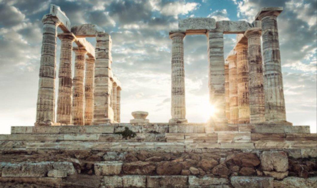 Σούνιο: Εκεί όπου το σήμερα συναντά τον αρχαίο ελληνικό πολιτισμό - Απίθανη η φωτογραφία της ημέρας - Κυρίως Φωτογραφία - Gallery - Video