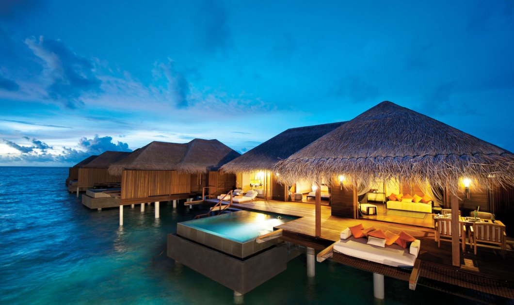 Μαλδίβες: Ένα παραδεισένιο ξενοδοχείο στα νησιά που πλέουν μέσα στην θάλασσα σαν ψεύτικα (φωτό) - Κυρίως Φωτογραφία - Gallery - Video