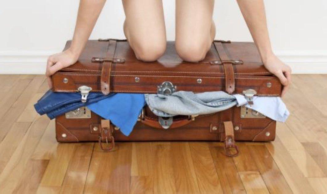 Ο πιο εύκολος και γρήγορος τρόπος για να πακετάρεις μία μικρή βαλίτσα – Και καλό σου ταξίδι!  - Κυρίως Φωτογραφία - Gallery - Video