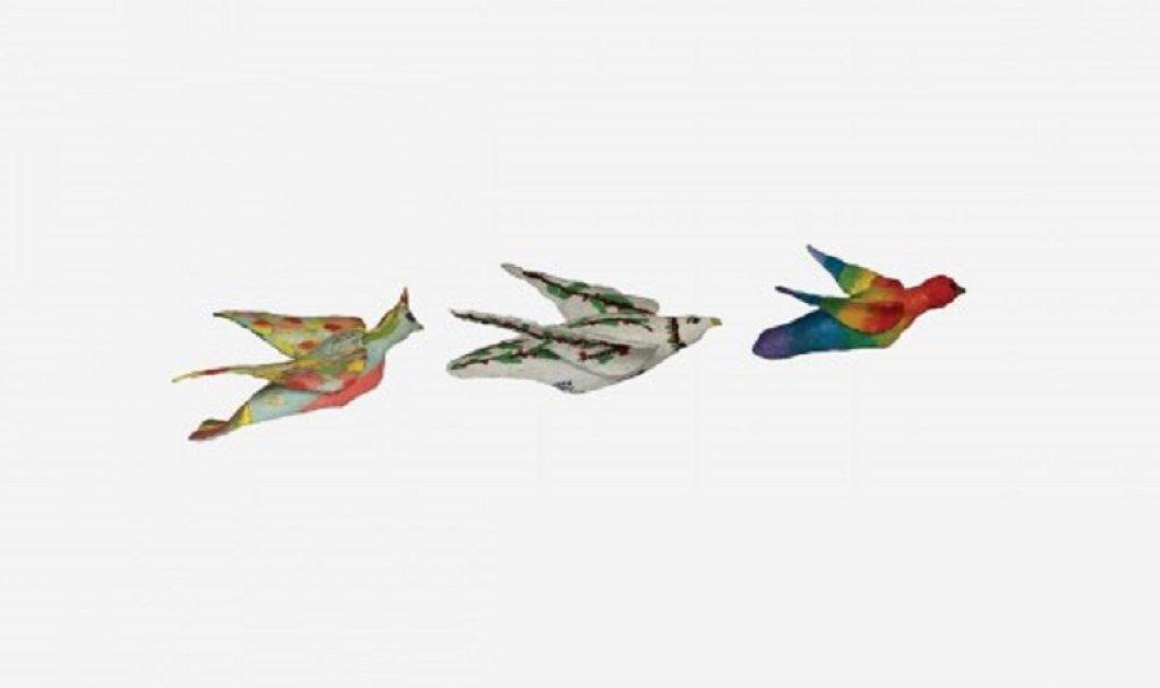 """Η βιωματική εγκατάσταση """"Τα πουλιά της ελευθερίας"""" στην Τεχνόπολη του δήμου Αθηναίων  - Κυρίως Φωτογραφία - Gallery - Video"""