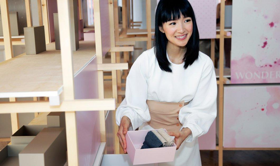 Μαρί Κόντο: H Γιαπωνέζα γκουρού της τάξης βγάζει νέο παιδικό βιβλίο & θα διδάσκει στα παιδιά την τέχνη της τακτοποίησης - Κυρίως Φωτογραφία - Gallery - Video