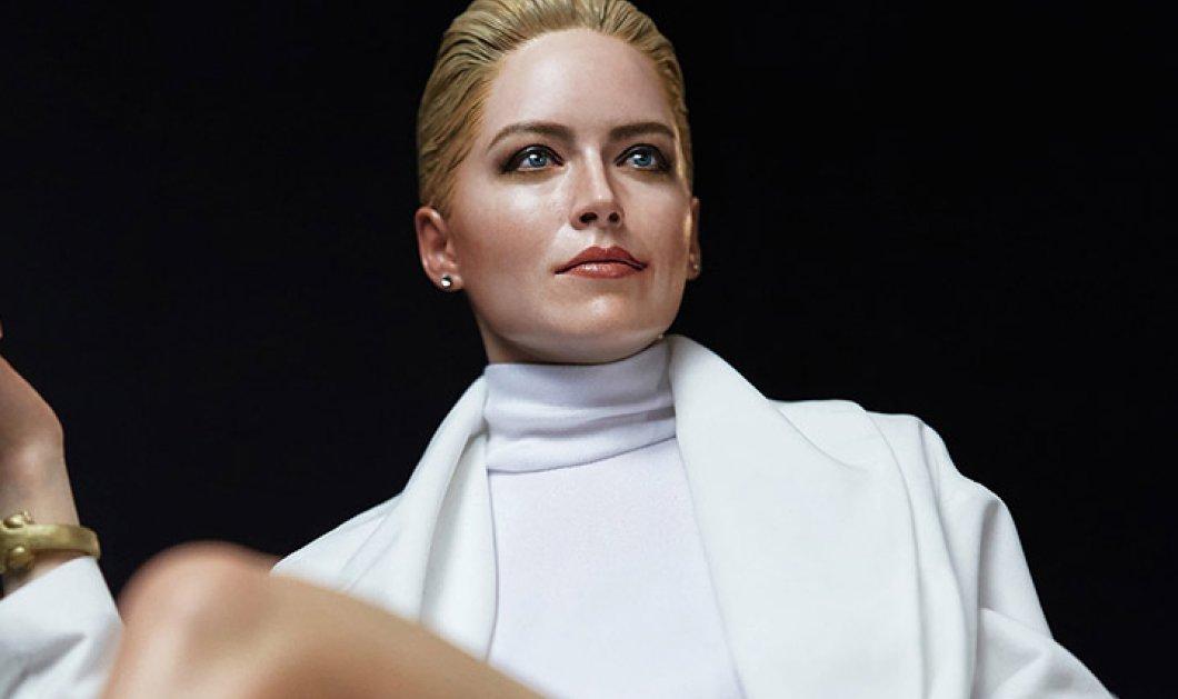 H Sharon Stone ποζάρει ξανά όπως τότε στο... βασικό ένστικτο (φωτό) - Κυρίως Φωτογραφία - Gallery - Video
