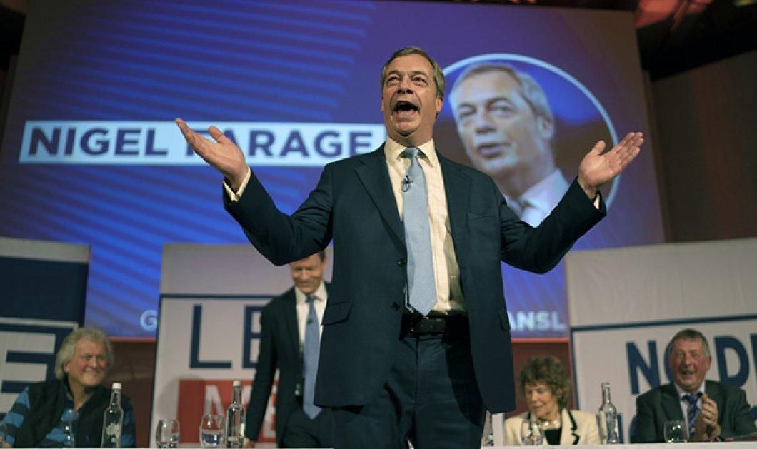 Από θρίαμβο σε θρίαμβο ο Νάιτζελ Φάραντζ με το κόμμα Brexit που δημιούργησε - Φαβορί για τις ευρωεκλογές - Κυρίως Φωτογραφία - Gallery - Video