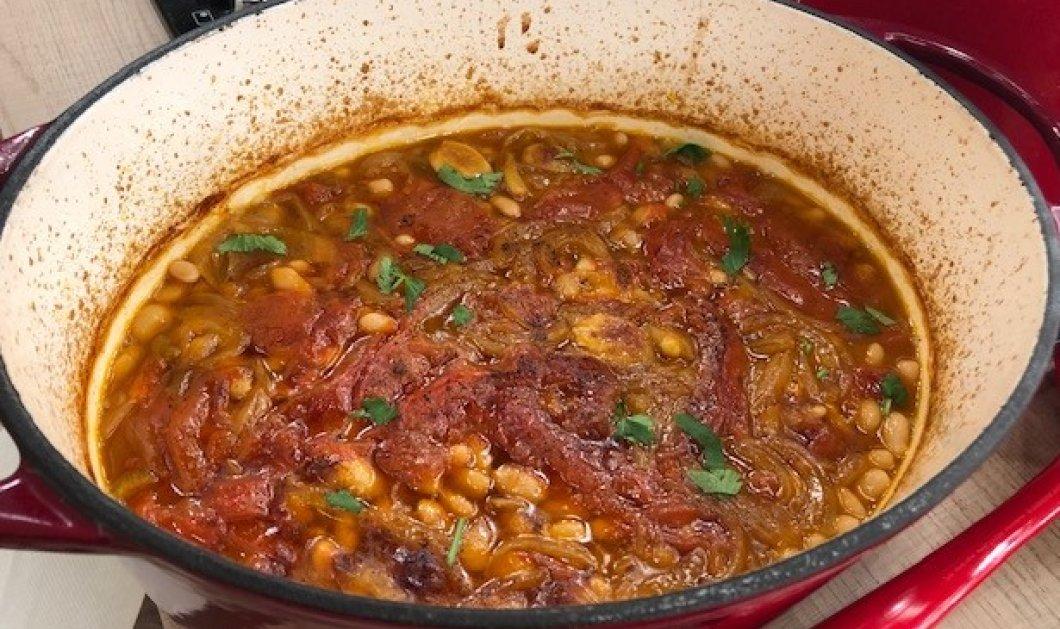 Αργυρώ Μπαρμπαρίγου: Λοπάδα, μία παραδοσιακή συνταγή από την Ρόδο για φασολάδα στο φούρνο! - Κυρίως Φωτογραφία - Gallery - Video