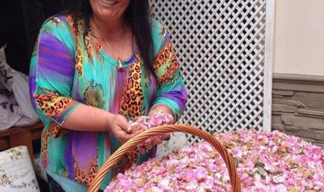 Η Μαρία Εκμεκτσίογλου μάζεψε όλα τα τριαντάφυλλα Ελλάδας – Τουρκίας και τα κάνει γλυκό στο βάζο (φωτό) - Κυρίως Φωτογραφία - Gallery - Video