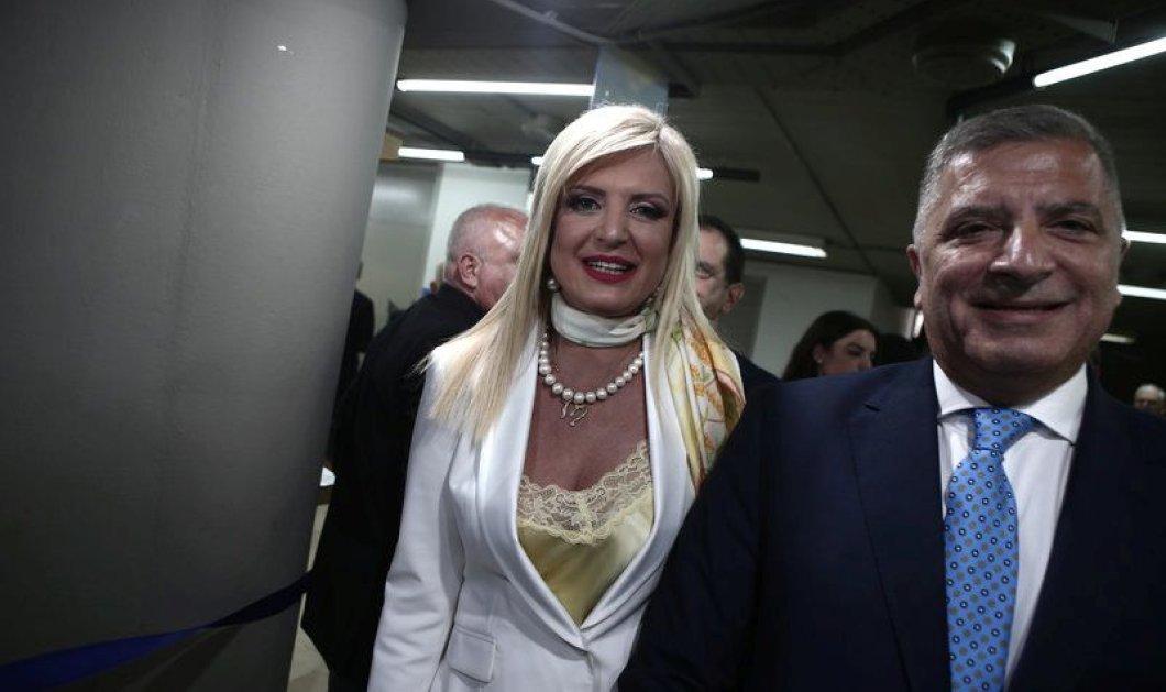 Εντυπωσιακή η Μαρίνα Πατούλη πλάι στον Κωνσταντίνο Καραμανλή, τον Άδωνι Γεωργιάδη & τον Βαγγέλη Μεϊμαράκη - Κυρίως Φωτογραφία - Gallery - Video