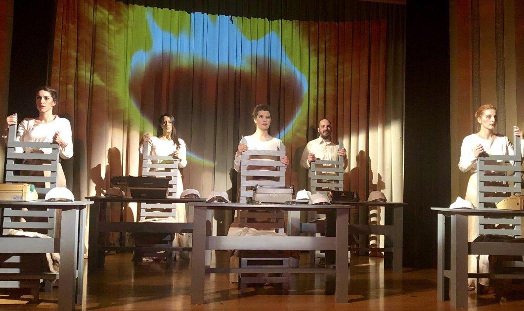 Γκέμμα: Το σύγχρονο πολυσυζητημένο φιλοσοφικό έργο του Λιαντίνη στο Θέατρο Βρετάνια - Κυρίως Φωτογραφία - Gallery - Video