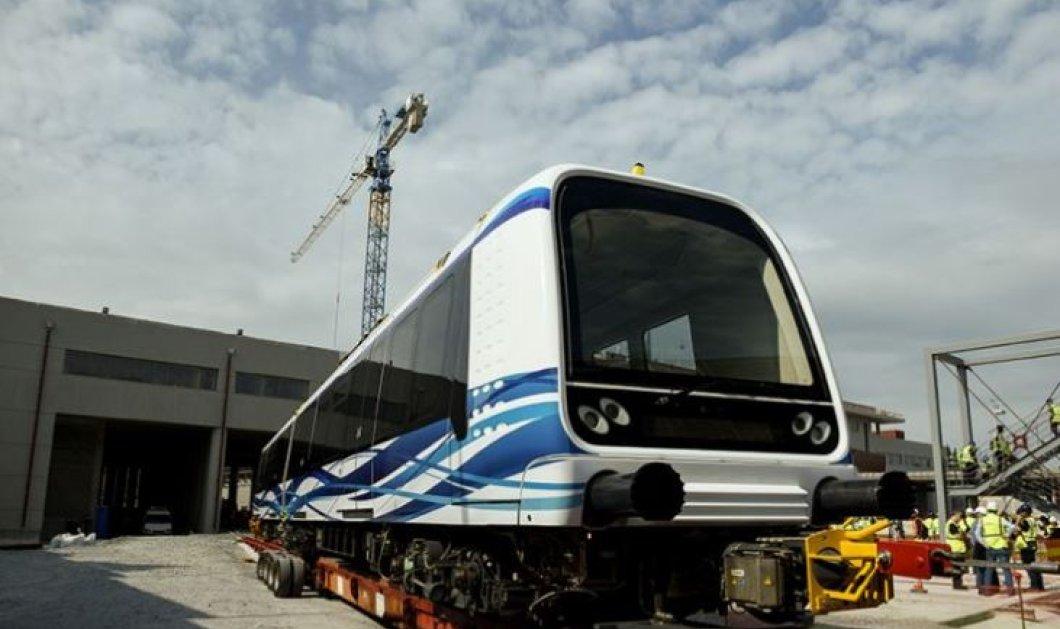 Good news: Επιτέλους! Τα νέα λευκά βαγόνια του μετρό Θεσσαλονίκης (φωτό)  - Κυρίως Φωτογραφία - Gallery - Video