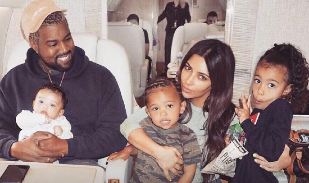 Ύμνος στην εκκεντρικότητα ! Το όνομα που έδωσε η Kim Kardashian στο 4ο παιδί της μετά την North, τον Chicago & τον Saint  - Κυρίως Φωτογραφία - Gallery - Video