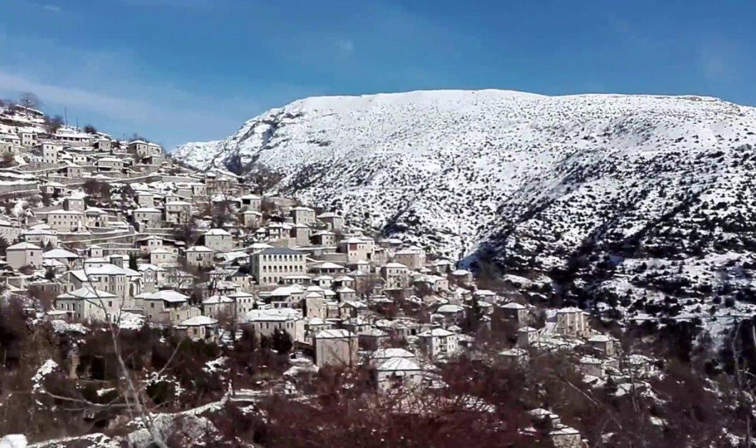 Γιάννενα: Ο χειμώνας δεν λέει να φύγει – Χιόνια και θερμοκρασίες κάτω από το 0 στο Συρράκο (φωτό) - Κυρίως Φωτογραφία - Gallery - Video