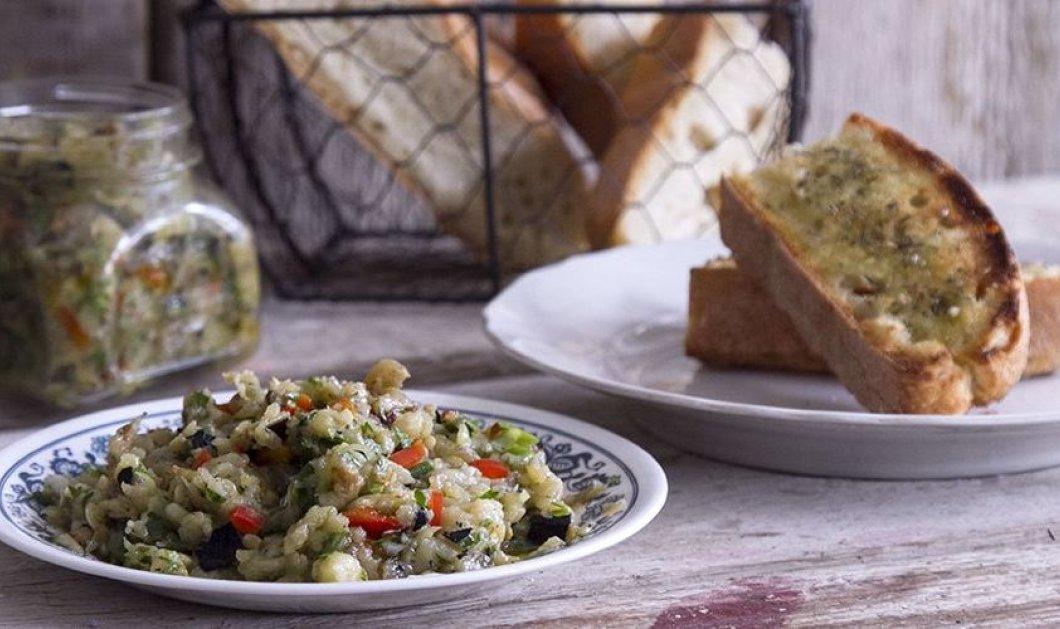 Λιβανέζικη μελιτζανοσαλάτα από τα χέρια της Αργυρώς - Κυρίως Φωτογραφία - Gallery - Video