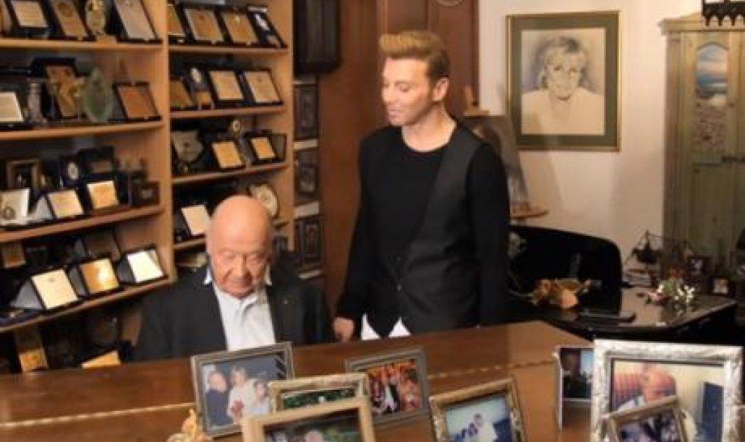 Ο Τάκης Ζαχαράτος συναντάει τον Μίμη Πλέσσα  (βίντεο) - Κυρίως Φωτογραφία - Gallery - Video