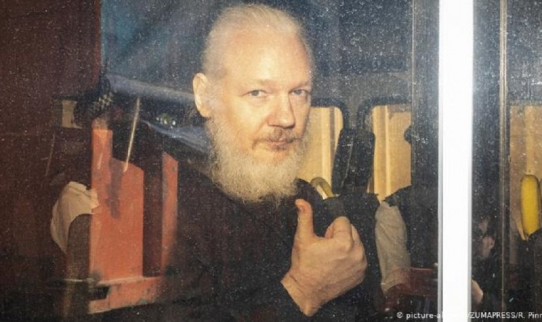 ΗΠΑ: 17 νέες κατηγορίες για κατασκοπεία ασκήθηκαν σε βάρος του Τζούλιαν Ασάνζ - Κυρίως Φωτογραφία - Gallery - Video