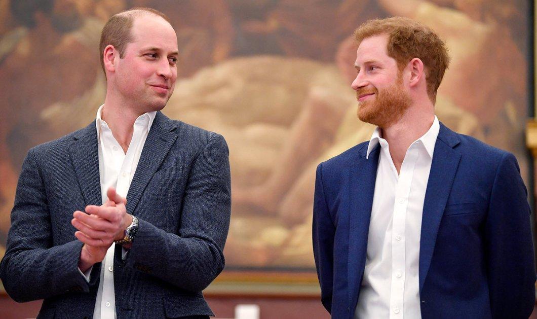 Καλωσήρθες στον κόσμο των άυπνων μπαμπάδων Χάρι - Ο πρίγκιπας Ουίλιαμ πειράζει τον αδελφό του για την γέννηση του γιου του - Κυρίως Φωτογραφία - Gallery - Video