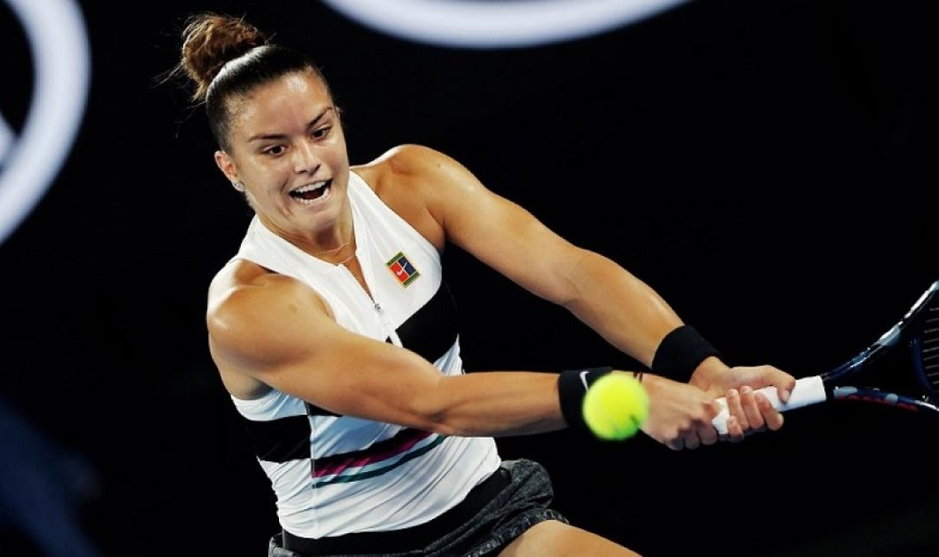 Η Μαρία Σάκκαρη η διεθνής μας πρωταθλήτρια του τένις, φιλάει το τεραίν & το τρόπαιότης! - Κυρίως Φωτογραφία - Gallery - Video