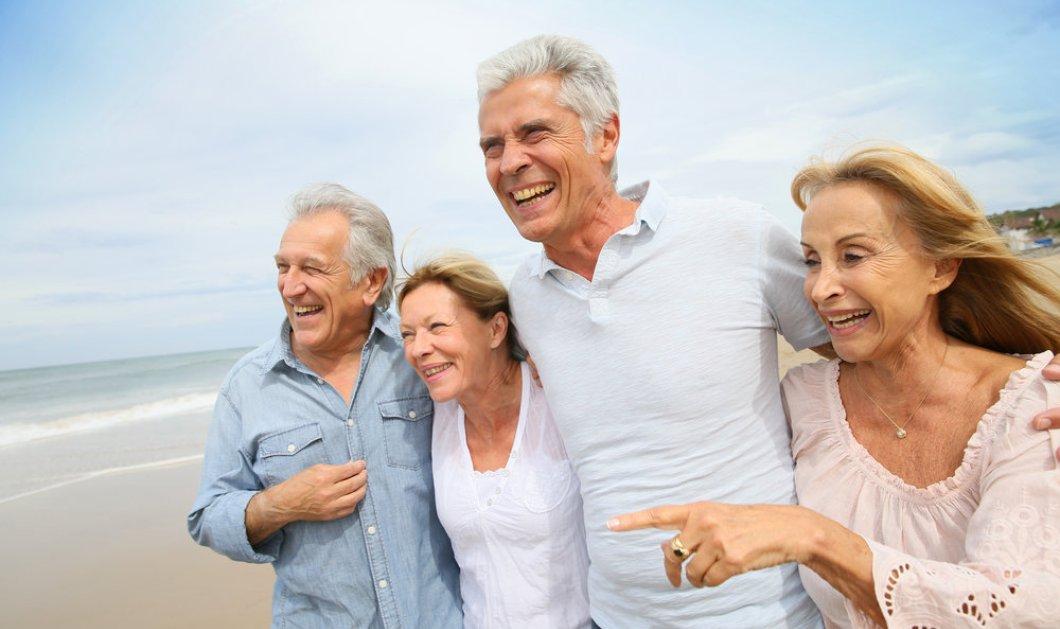Είστε μεγαλούτσικος και έχετε σκοπό ζωής; - Θα ζήσετε περισσότερα χρόνια υγιής  - Κυρίως Φωτογραφία - Gallery - Video