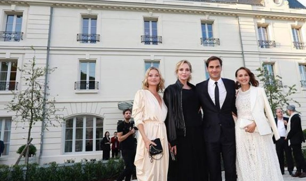 Natalie Portman, Uma Thurman, Roger Federer & Kate Moss: Γιόρτασαν σε πύργο της Γαλλίας τα 150 χρόνια διάσημης σαμπάνια (φωτό) - Κυρίως Φωτογραφία - Gallery - Video