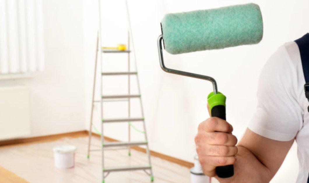 O Σπύρος Σούλης προτείνει: Μεταμορφώστε τους τοίχους σας με αυτή την έξυπνη τεχνική βαψίματος! - Κυρίως Φωτογραφία - Gallery - Video