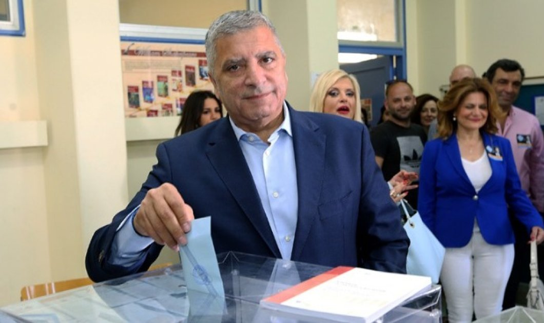Ψήφισε ο Γιώργος Πατούλης: Να προχωρήσουμε μπροστά - Κυρίως Φωτογραφία - Gallery - Video