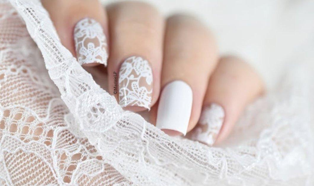Μανικιούρ για γάμο: Εντυπωσιακά σχέδια στα νύχια σας: Από το κλασσικό ασημί ως το όμπρε ροζ - Κυρίως Φωτογραφία - Gallery - Video